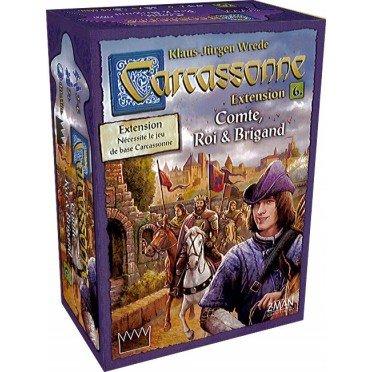 Carcassonne - Comte roi et Brigand (ext.6)