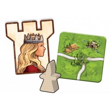 Carcassonne - Princesse et Dragon (ext. 3)