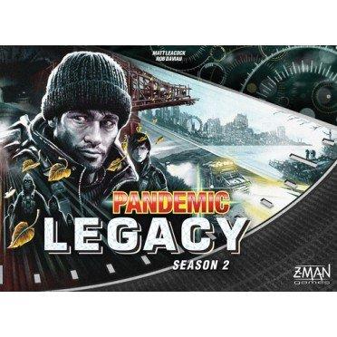Pandemic Legacy Saison 2 - Black