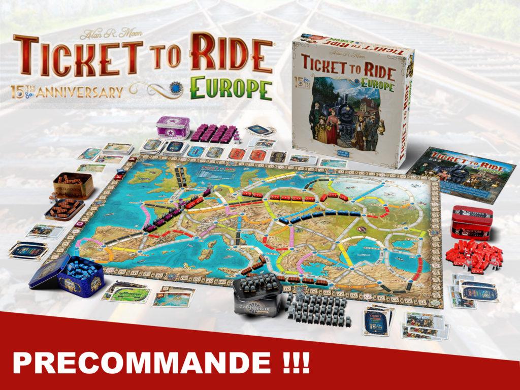 Préco - Aventuriers du rail 115th anniversary