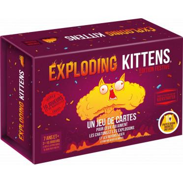 Exploding Kittens - Edition festive