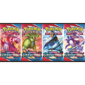 Pokémon bosster sword and shield styles de combat