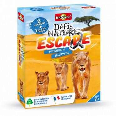 Defis Nature Escape-Mission Survie