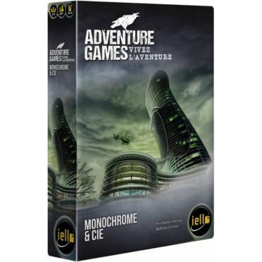 Adventure Games Monochrome