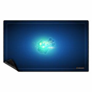 tapis jeux multijeux bleu 100x60cm